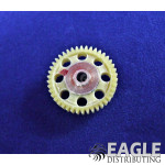 42T 72P Drilled Polymer Spur Gear