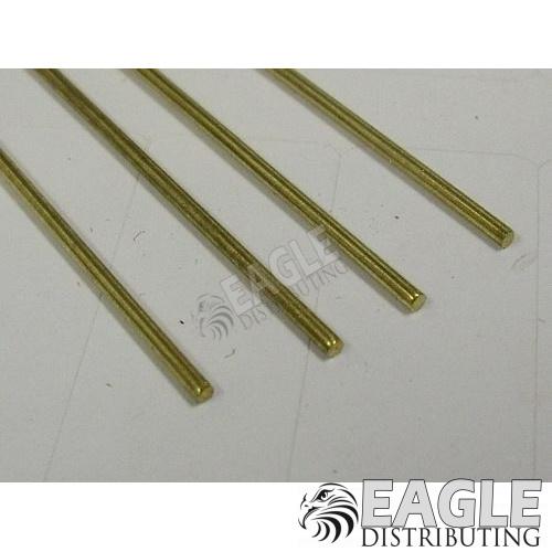 3/64 x 12 Brass Rod