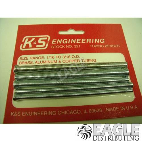 """K/&S Engineering 321 Tubing Bender Range 1//16/"""" to 3//16/"""" O.D."""