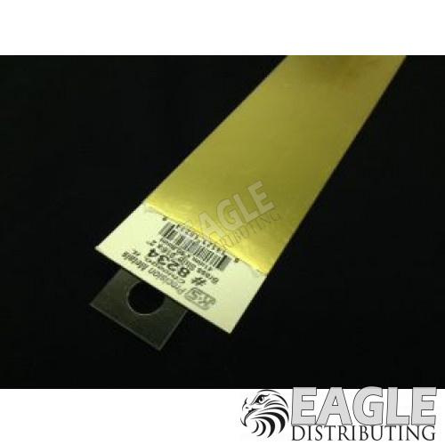.016 x 2 x 12 Brass Strip
