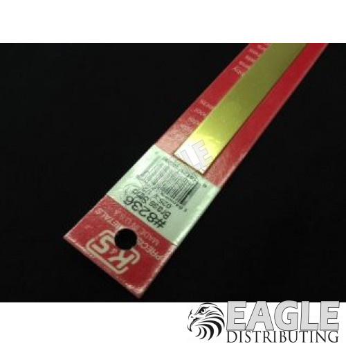 .025 x 1/2 x 12 Brass Strip