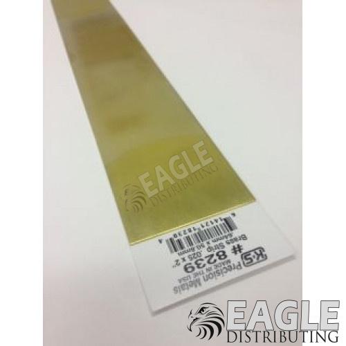 .015x2x12 Brass Strip
