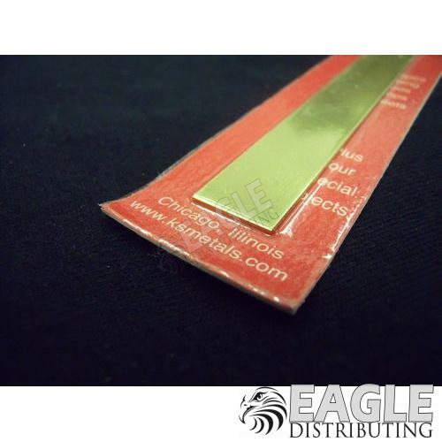 .032 x 1/2 x 12 Brass Strip