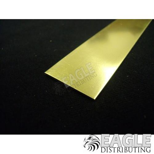 .032 x 1 Brass Strip (1)
