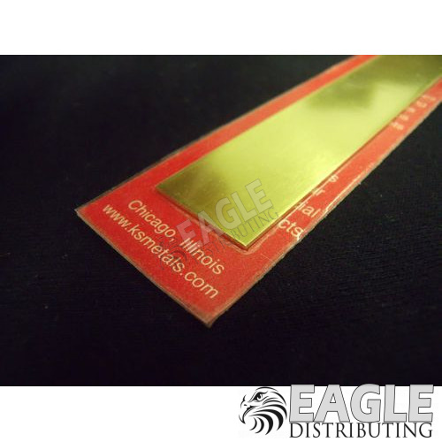.032 x 3/4 Brass Strip (1)