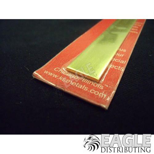 .065 x 1/2 x 12 Brass Strip