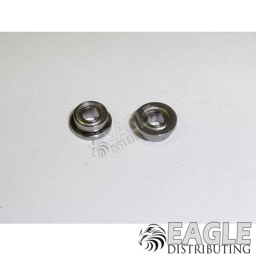 3/32 x 3/16 Shielded Ball Bearings w/Flange-PRO090