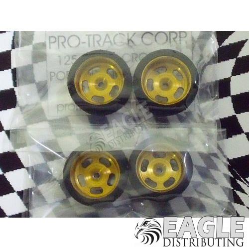 1/16 x 5/8 x .250 Gold Daytona Stockers Foam Fronts-PRO166G