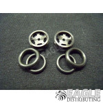 1/16 x 5/8 Black Daytona Stockers O-ring Fronts