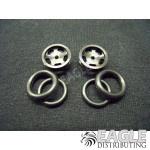 1/16 x 5/8 Black Daytona Stockers O-ring Fronts