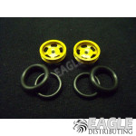 1/16 x 5/8 Gold Daytona Stockers O-ring Fronts