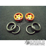 1/16 x 5/8 Red Daytona Stockers O-ring Fronts
