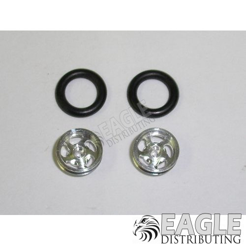 Sawblade Series Wheelie bar wheels, 3/8