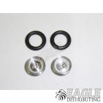.050 x 3/8 x 1/16 Classic Wheelie Wheel Kit