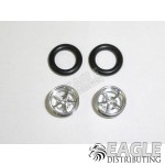 .050 x 3/8 x 1/16 Pro Star Wheelie Wheel Kit