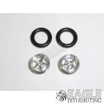 .050 x 3/8 x 1/16 Pro Star Wheelie Wheel Kit