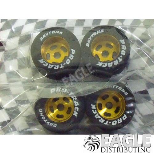 1/8 x 13/16 x .500 Gold Daytona Stockers Fronts-PRO219G