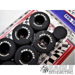 1/8 x 1.01 x .800 Black Daytona Stockers Rears, Reg. Rubber