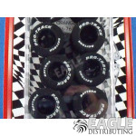 1/8 x .850 x .800 Black Daytona Stockers Rears, Reg. Rubber