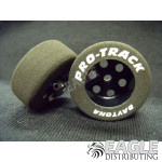 1/8 x 1 1/16 x .435 Black TQ Front Wheels w/Foam Tires