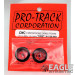 3/4 Foam Drag Front Tire Red