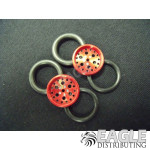 1/16 x 3/4 Red Top Fuel O-ring Drag Fronts