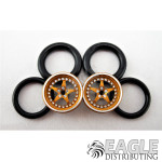 1/16 x3/4 3D Gold Star O-ring Drag Fronts