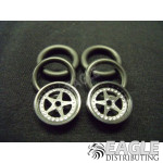 1/16 x 3/4 Black Star O-ring Drag Fronts