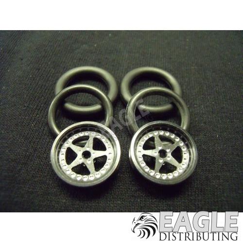 1/16 x 3/4 Black Star O-ring Drag Fronts-PRO411BBL