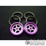 1/16 x 3/4 Purple Star O-ring Drag Fronts
