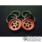 1/16 x 3/4 Red Star O-ring Drag Fronts