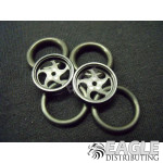 1/16 x 3/4 Black Sawblade O-ring Drag Fronts
