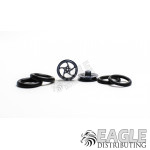 1/16 x 3/4 Gunmetal Sawblade Turbine O-ring Drag Fronts