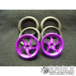1/16 x 3/4 Purple Sawblade O-ring Drag Fronts