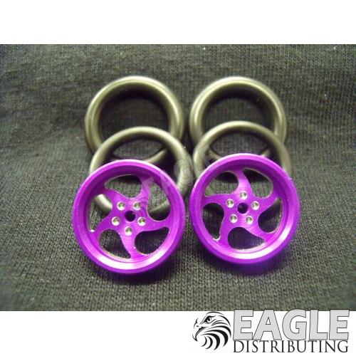 1/16 x 3/4 Purple Sawblade O-ring Drag Fronts-PRO411CP