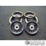 1/16 x 3/4 Black Turbine O-ring Drag Fronts
