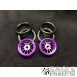 1/16 x 3/4 Purple Turbine O-ring Drag Fronts