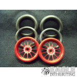 1/16 x 3/4 Red Turbine O-ring Drag Fronts