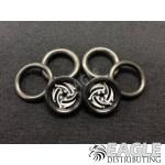 1/16 x 3/4 Black Ninja O-ring Drag Fronts