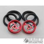 1/16 x 3/4 Red Ninja O-ring Drag Fronts