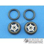 1/16 x 3/4 Black Daytona O-ring Drag Fronts