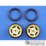 1/16 x 3/4 Gold Daytona O-ring Drag Fronts