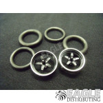 1/16 x 3/4 3D Black Pro Star O-ring Drag Fronts