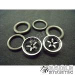 1/16 x 3/4 3D Black Pro Star O-ring Drag Fronts