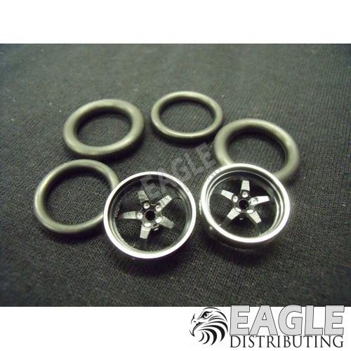 1/16 x 3/4 3D Black Pro Star O-ring Drag Fronts-PRO411I3DBL