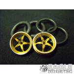 1/16 x 3/4 3D Gold Pro Star O-ring Drag Fronts