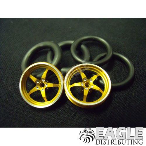 1/16 x 3/4 3D Gold Pro Star O-ring Drag Fronts-PRO411I3DG