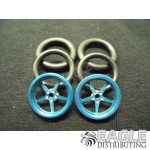 1/16 x 3/4 Blue Pro Star O-ring Drag Fronts