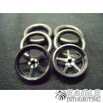1/16 x 3/4 Black Pro Star O-ring Drag Fronts
