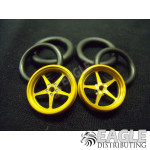 1/16 x 3/4 Gold Pro Star O-ring Drag Fronts